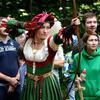 诺夫哥罗德举行历史重演文化节
