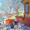 跟随康斯坦丁·尤奥恩的画笔领略俄罗斯的绝美风光