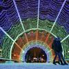 莫斯科市中心的节日装饰