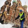 坐落于圣彼得堡格里博耶多夫运河沿岸的滴血大教堂