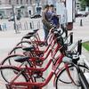 莫斯科开放自行车出租站