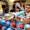 莫斯科开始新年装饰品大促销活动