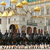 俄罗斯总统警卫团仪仗队表演