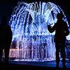全俄展览中心喷泉开启喷水