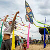 喀山举行风筝节