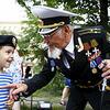 """圣彼得堡庆祝""""海军日"""""""