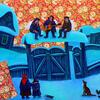 在伊戈尔·沙伊玛尔达诺夫的插画中告别冬季