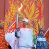 奥运火炬在北极圈