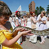 第6届新娘节在克拉斯诺亚尔斯克举行