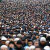 俄罗斯穆斯林庆祝古尔邦节