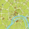 首张中文版莫斯科旅游地图新鲜出炉