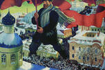 Boris Kustodiev. The Bolshevik
