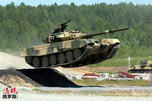 Russian tank T-90 CN