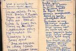 Notebook of Soviet Writer Semyon Gudzenko