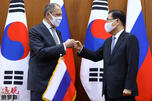 Lavrov in South Korea