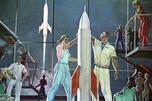"""Space Conquerors"" by Alexander Deineka"