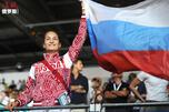 Russia's fencer Sofya Velikaya CN