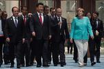 G20 Joko Widodo Xi Jinping Vladimir Putin Angela Merkel Francois Hollande
