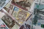 Rubles hryvnas