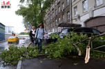 Moscow hurricane