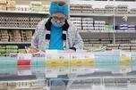 "Supermarket ""Lenta"" in Moscow"