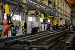 Production of steel structures at the Uralelectromed JSC plant