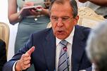 图中:俄罗斯外交部长谢尔盖·拉夫罗夫。摄影:AP