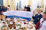 8月20日,在莫斯科俯首山降重举行了俄罗斯总统普京参加的残奥运动员欢送仪式。图片来源:塔斯社