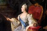 叶卡捷琳娜二世的肖像,费奥多·罗可托夫画。1763年。特列季亚科夫画廊。