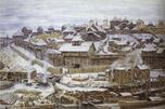 伊凡一世时期的克里姆林宫。阿波里耐·瓦斯涅佐夫画。