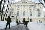 医院主楼建于1798-1802年,建筑师伊万·叶戈托夫。图片来源:俄新社