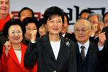 朴正熙之女朴槿惠成为韩国新任总统。图片来源:路透社