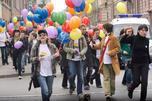 禁止向未成年人宣扬同性恋或将写入俄罗斯联邦法律。图片来源:塔斯社