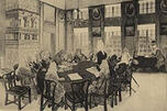 彼得一世时期的参议院会议。
