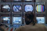 中央电视演播室。图片来源:俄新社