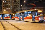 莫斯科现代有轨电车。