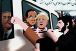 """具有讽刺意味的是,""""阿拉伯之春""""之前,伊朗几乎是中东地区最民主的国家(不算土耳其、以色列和被占领下的伊拉克)。制图:Alena Repkina"""