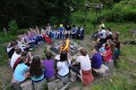 儿童夏令营是一种完全非盈利的社会机构。现在它们只能靠大企业资助和国家 拨款来维持。图片来源:塔斯社