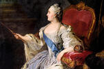 叶卡捷琳娜二世肖像。