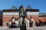 特列季亚科夫画廊前的帕维尔·特列季亚科夫塑像。图片来源:wikipedia.org