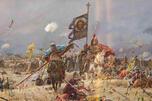 罗斯军队在迦勒迦河边同蒙古人第一次作战。