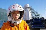 27岁演员雅罗斯拉夫•扎尔宁饰演传奇宇航员加加林。图片来源:kinopoisk.ru