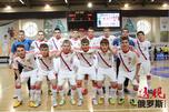 俄罗斯国青队。图片来源:俄罗斯足球联盟。