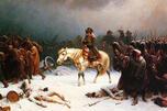 《拿破仑撤离莫斯科》画家:阿道尔弗·诺森(1828–1876)