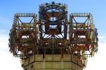 位于莫斯科的当代俄罗斯科学院大楼顶钟。图片来源:Wikipedia/Andrey Vukolov