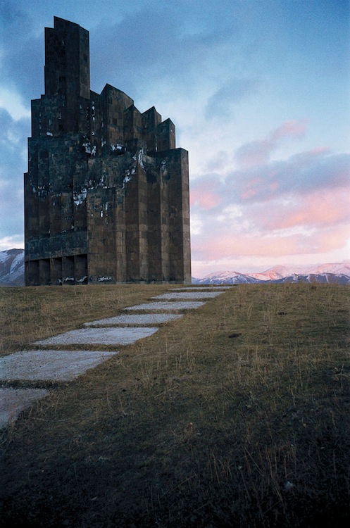 Monument to the Battle of Bash-Aparan. (R. Israelyan) Armenia, 1979