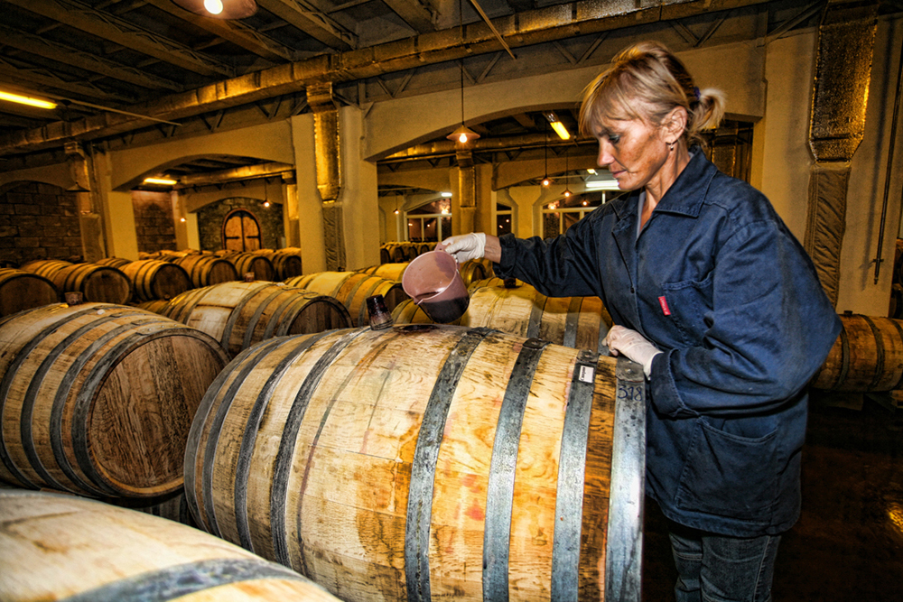 Fanagoria Winery has its own cooperage, using Caucasian oak for barrels. Owing to extraction of the oak wood components, barrel ageing is known to ensure constancy of physico-chemical and biochemical processes required for wine perfection. Thus, a wooden barrel is an ideal system for wine seasoning.