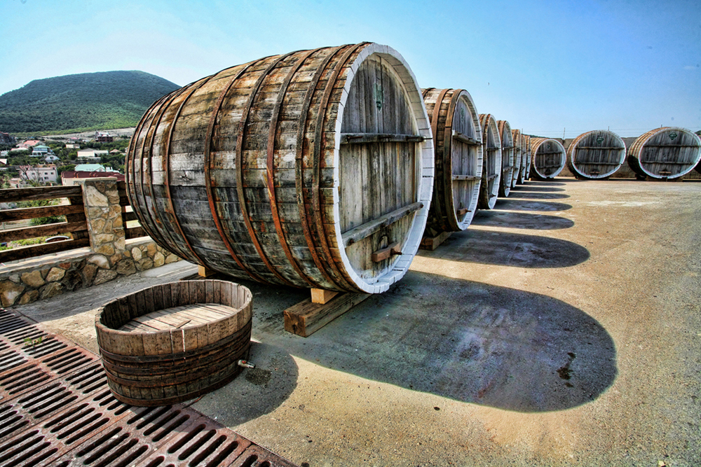 Oak wood is globally recognized as the main material used to produce the barrels for wine, brandy, etc. ageing. It is its moderate permeability for gases, impermeability for liquids, and active interaction with the beverage inside the barrel that significantly affects the parameters of technological process and the quality of the wine or brandy.