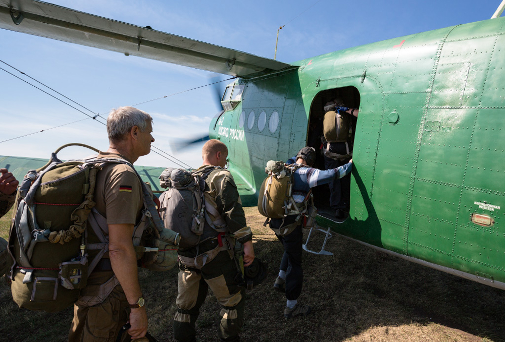 Generally, Russians love skydiving as much as the other extreme sports. Nowadays numerous airbases and flight clubs invite thrill-seekers to take a parachute jump or a trial flight with a coach.