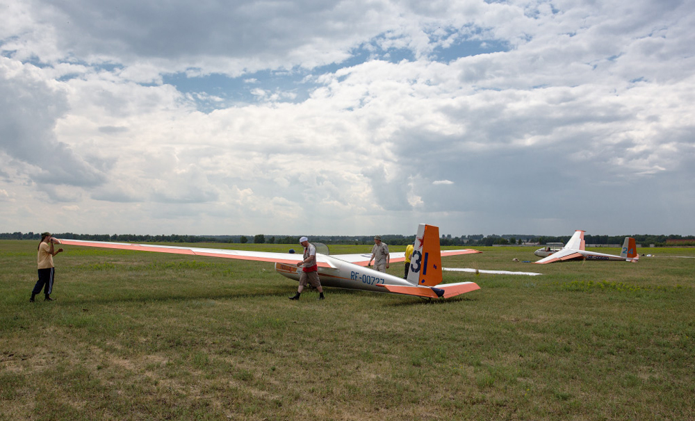 First two years it was only skydiving club, but the founders with the coaches were always hunting for more. And soon their dreams came true. The first gliders appeared in the early 90s. Since 1995 the Novosibirsky Club helds The Russian Gliding Championship.